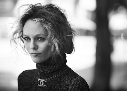 Vanessa Paradis by Peter Lindbergh for L'Uomo Vogue May 2019