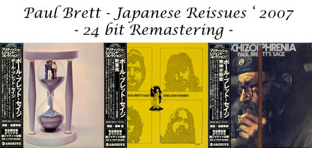 Paul Brett Sage - Japanese Mini-LP's (3 Albums) [24bit Remastering '2007] RE-UP