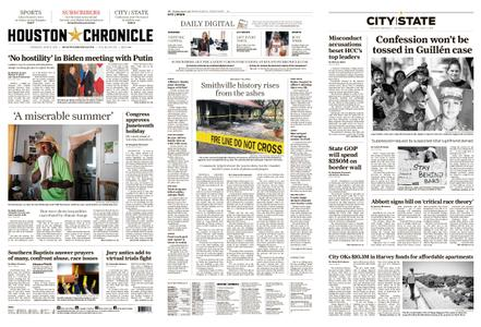 Houston Chronicle – June 17, 2021