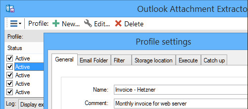 Outlook Attachment Extractor 3.8.2