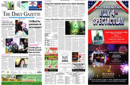 The Daily Gazette – June 29, 2018