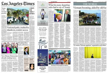 Los Angeles Times – January 03, 2019