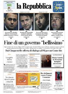 la Repubblica - 20 Agosto 2019