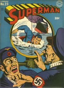 Superman 23 (DC) (1943 July-Aug) (c2c) (A.S.S.)