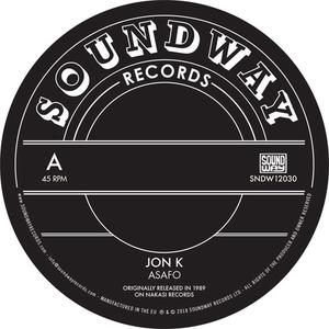 "Jon K/Pat Thomas - Asafom/Enye Woa (12"" single) (2018) {Soundway}"