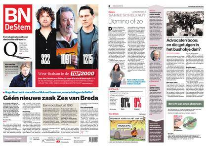 BN DeStem - Bergen op Zoom – 20 december 2017