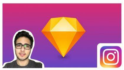 Learn Sketch - Design and Prototype Instagram in 7 steps