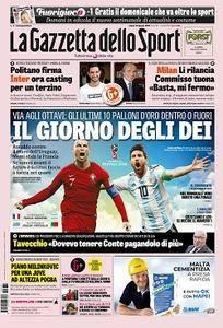 La Gazzetta dello Sport - 30 giugno 2018