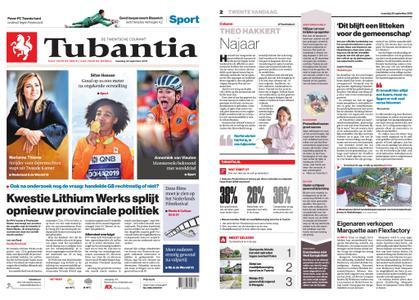 Tubantia - Enschede – 30 september 2019