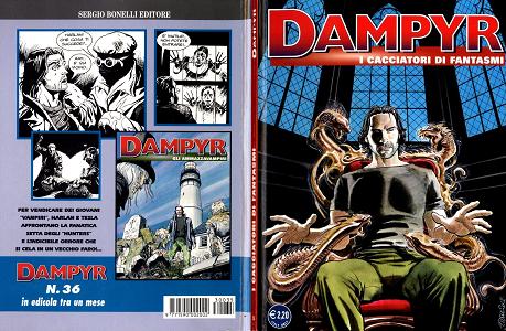Dampyr - Volume 35 - I Cacciatori di Fantasmi
