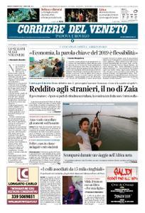 Corriere del Veneto Padova e Rovigo – 05 gennaio 2019