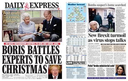 Daily Express – November 20, 2020