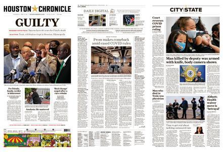 Houston Chronicle – April 21, 2021