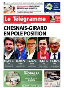 Le Télégramme Brest Abers Iroise – 21 juin 2021
