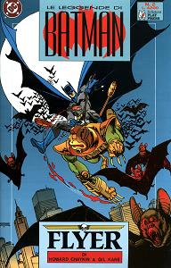 Le Leggende Di Batman - Volume 2 - Flyer