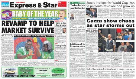 Express and Star Sandwell Edition – July 23, 2018
