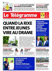 Le Télégramme Auray – 23 juin 2021