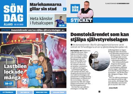 Ålandstidningen – 22 december 2019