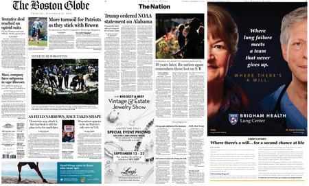 The Boston Globe – September 12, 2019