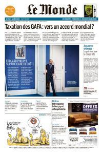 Le Monde du Mercredi 30 Janvier 2019