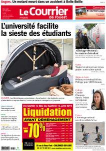 Le Courrier de l'Ouest Angers – 15 mai 2019