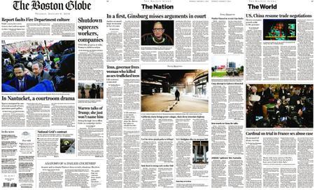 The Boston Globe – January 08, 2019