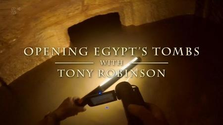 Channel 5 - Opening Egypt's Tombs (2018)