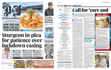 The Press and Journal Moray – June 19, 2020
