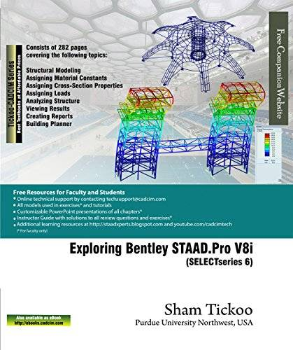 Exploring Bentley STAAD.Pro V8i (SELECTseries 6) / AvaxHome