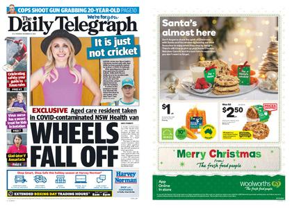 The Daily Telegraph (Sydney) – December 24, 2020