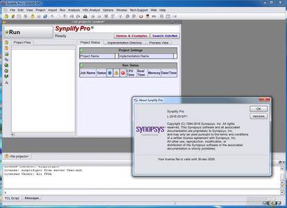 Synopsys Synplify with Design Planner L-2016.03-SP1