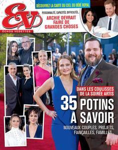 Échos Vedettes - 24 mai 2019