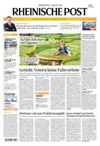 Rheinische Post – 01. August 2019