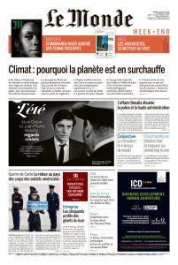 Le Monde du Samedi 28 Juillet 2018