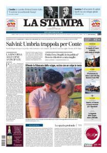 La Stampa Imperia e Sanremo - 25 Ottobre 2019