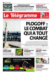 Le Télégramme Quimper – 05 février 2020