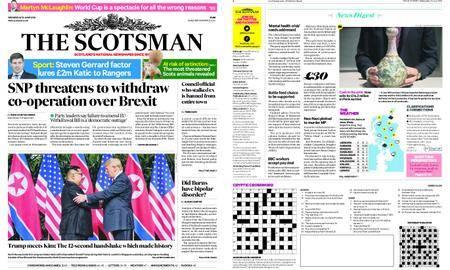 The Scotsman – June 13, 2018