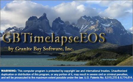 GBTimelapse Pro EOS 4.0.20.0