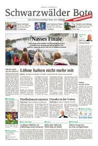 Schwarzwälder Bote Freudenstadt - 07. Oktober 2019