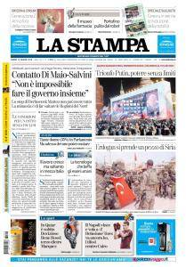 La Stampa Imperia e Sanremo - 19 Marzo 2018
