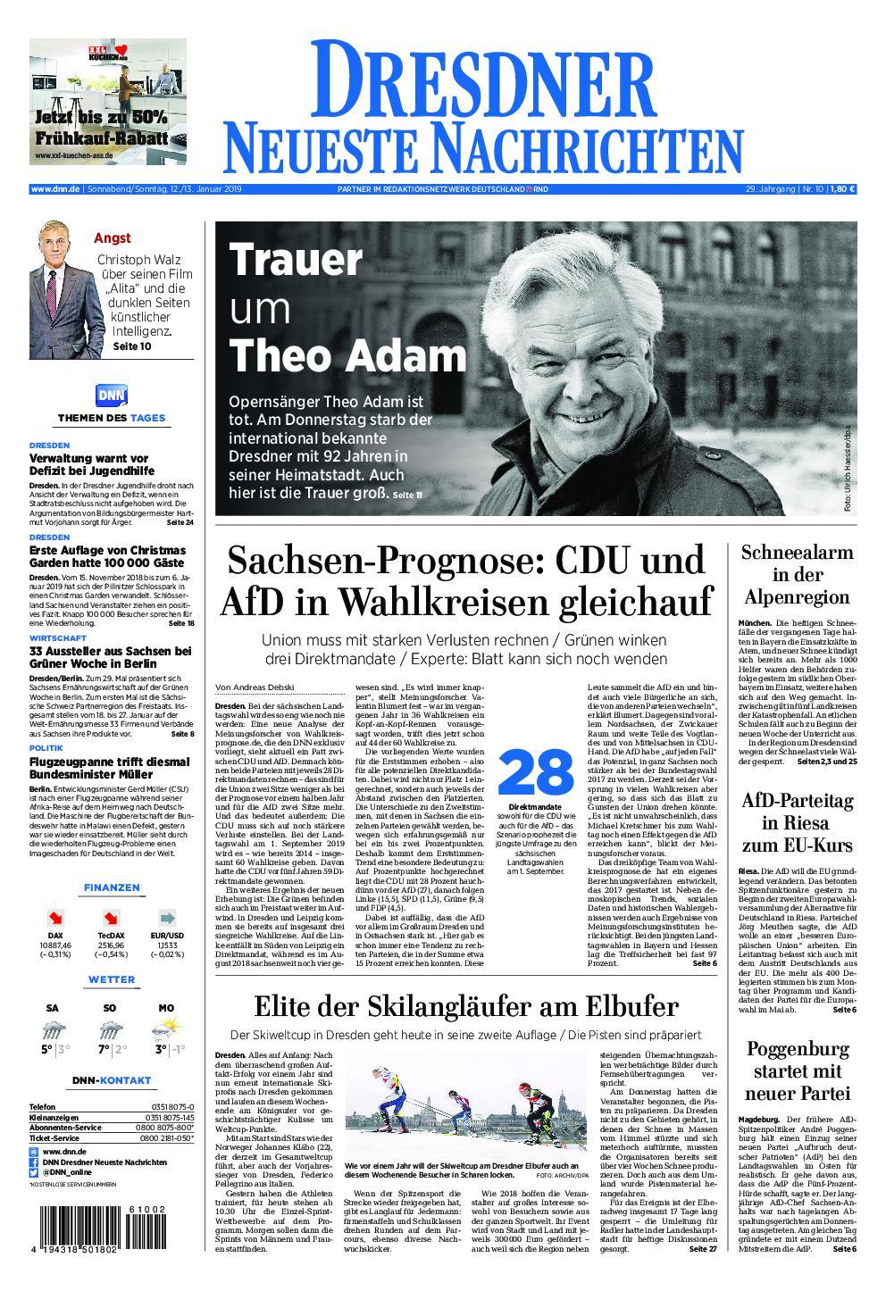 Dresdner Neueste Nachrichten - 12. Januar 2019