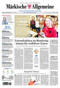 Neue Oranienburger Zeitung - 28. November 2018