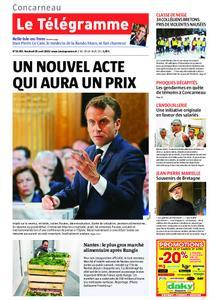 Le Télégramme Concarneau – 26 avril 2019