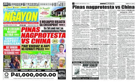 Pilipino Star Ngayon – Hunyo 14, 2019