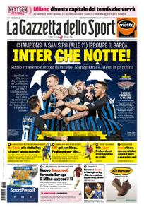 La Gazzetta dello Sport Roma – 06 novembre 2018
