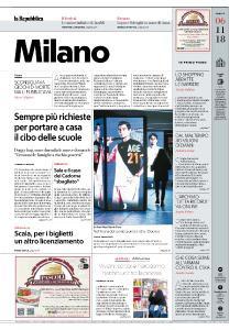 la Repubblica Milano - 6 Novembre 2018