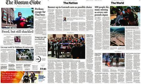 The Boston Globe – July 09, 2018