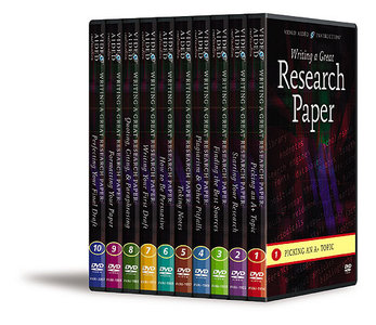 Video Aided Instruction - Writing a Great Research Paper [Repost]