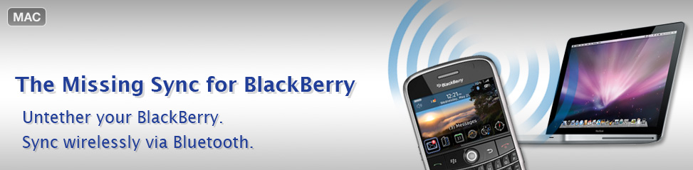 The Missing Sync for Blackberry 2.0.3