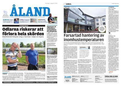 Ålandstidningen – 01 augusti 2018